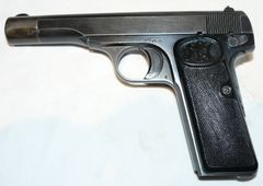 Deactivated pistol Fn cal. 9 Browning 1922