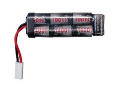 Airsoft battery 8,4 V 1400 mAh, mini-U, NiMH