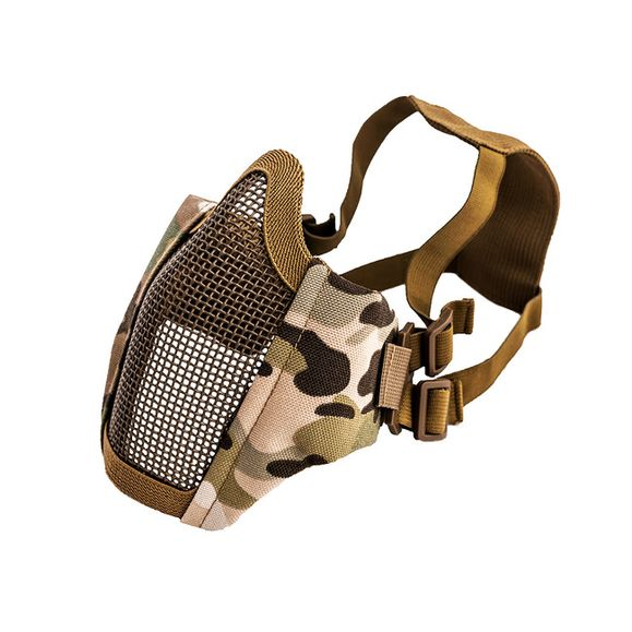 Airsoft mask Mesh metal Multi camo