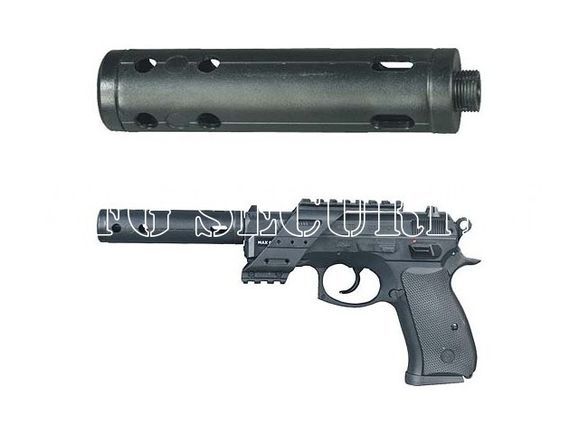Airsoft silencer CZ 75 D Compact