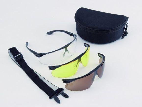 Ballistic goggles Peltor, 3-kit