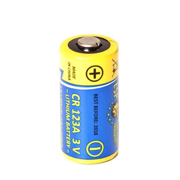 Battery lithium CR 123 A - 3 V