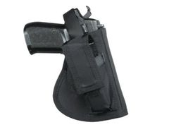 Hip holster with magazine Glock 17, right