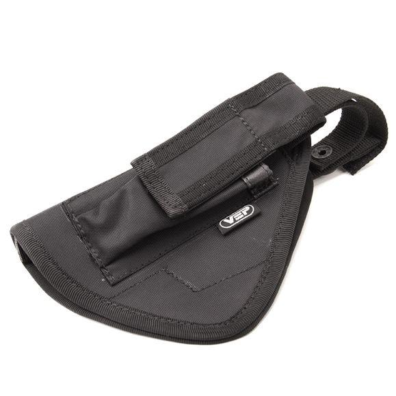 Hip holster with magazine Glock 17, left
