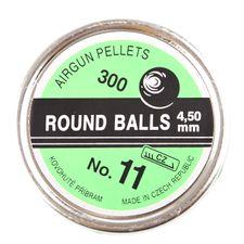Pellets nr. 11, 300 pcs, cal. 4,5mm