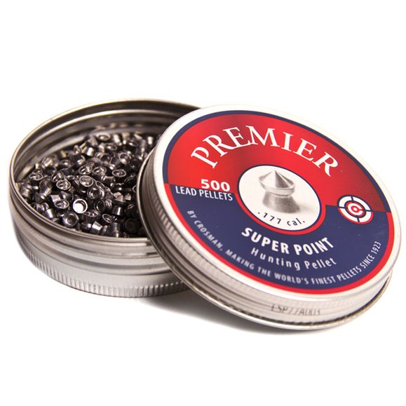 Pellets Crosman Premier Super Point, 500 pcs, cal. 4,5 mm (.177)
