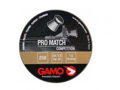 Pellets Gamo Pro Match 250pcs cal.5,5mm