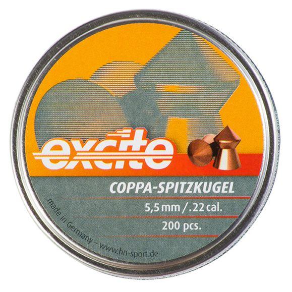 Pellets HN Excite Copa Spitzkugel cal. 5.5 mm, 200 pcs
