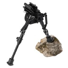 Bipod supporting telescopic Norconia on the stock