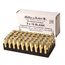 Expansion ammunition Sellier & Bellot 9 x 19 Blank/50 pcs