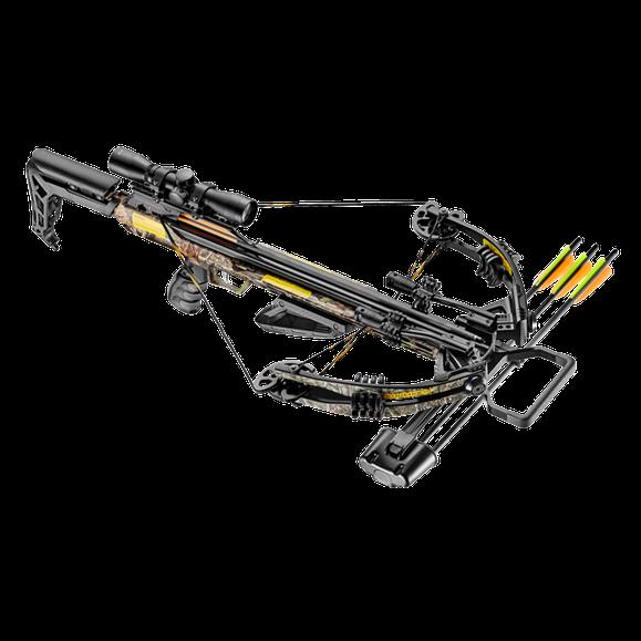 Crossbow compound Accelerator 370 + camo 185 LB
