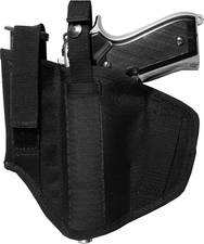 Bilateral holster for gun with magazine ČZ 82/83