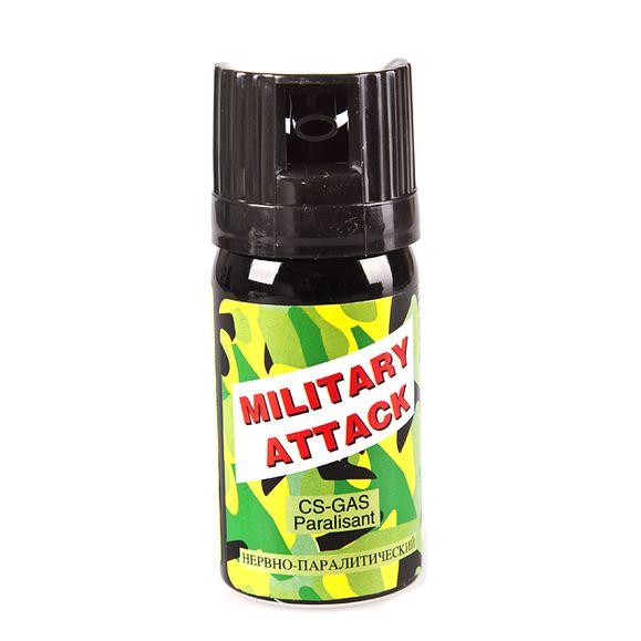 Defense spray CS MILITARY Atack 40ml