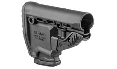 Buttstock GL-MAG for M4/M16/AR15 black with 10 round magazin