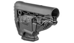 Buttstock GL-MAG for M4/M16/AR15, black, with 10 shot magazine