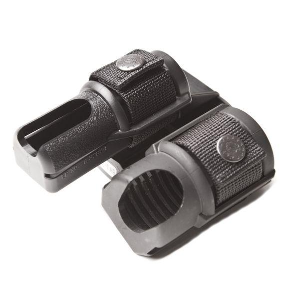 Plastic case for baton end spray double, rotary BH-SH-04