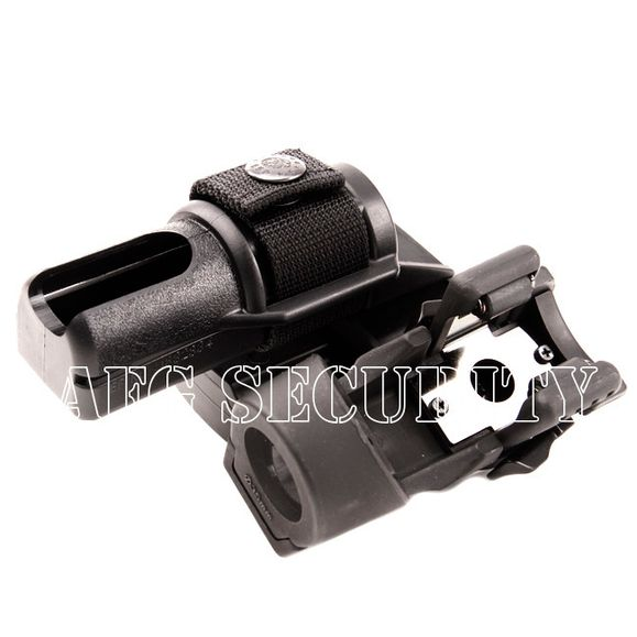 Plastic case for baton end flashlights double, rotary BH-LHU-04