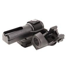 Plastic baton and flashlight holster, double, rotating BH-LHU-15