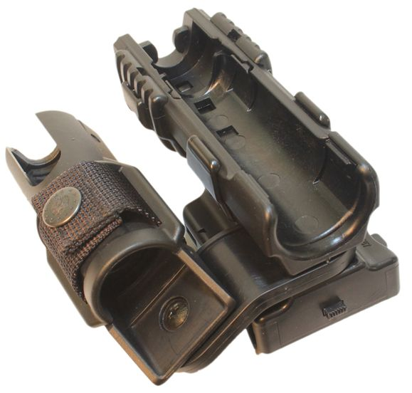 Plastic case for baton double, rotary SH-21-LH-04