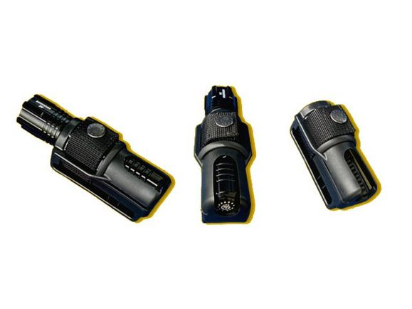 Plastic case for tactical flashlights LH-02