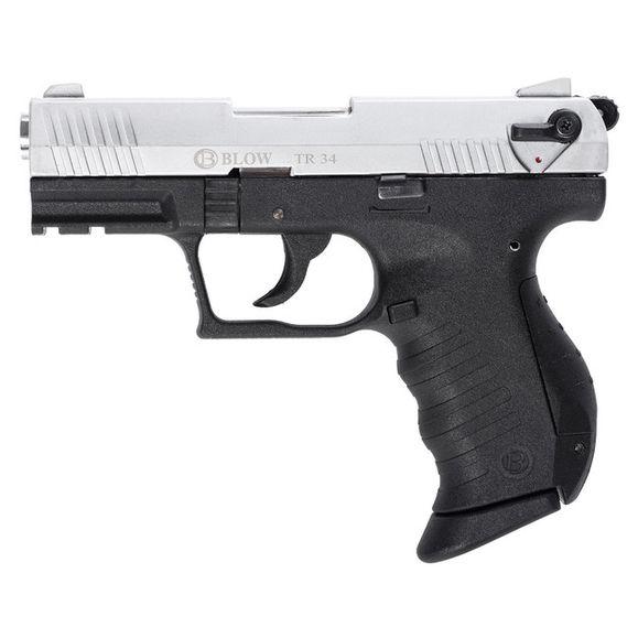 Gas pistol BLOW TR 34, cal. 9 mm chrome