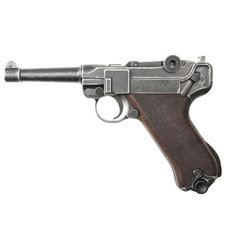 Gas pistol Cuno Melcher P08 antik, cal. 9 mm