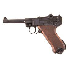 Gas pistol Cuno Melcher P08, black, cal. 9 mm