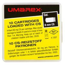 Gas cartridges CS pistol Umarex 8 mm