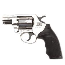 Gas revolver Alfa 020 nickel, plastic, cal. 9 mm R Knall