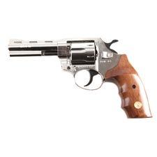 Gas revolver Alfa 040 nickel, wood, cal. 9 mm R Knall