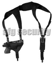 Shoulder Holster for gun with magazine Glock 19, right