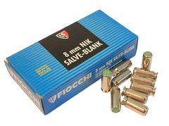Blank cartridge Fiocchi 8 mm, 50 pcs
