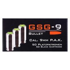 Blank cartridge GSG-9 P.A.K. cal. 9 mm, 50 pcs