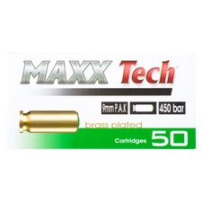 Blank cartridge Maxx Tech 9 mm P.A.K. 50 pc