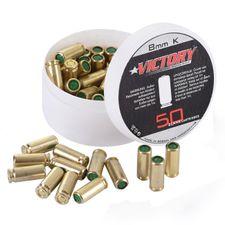 Blank cartridges pistol Victory 8 mm, 50 pcs