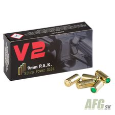 Blank cartridge V2 9 mm P.A.K. 50 pc
