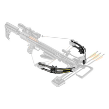 Limb Set Ek Archery for Accelerator 370 black 185 Lbs