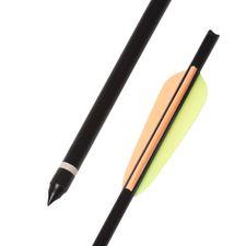 """Arrow dural 18"""" HalfMoon Ek Archery black 1 pc"""