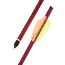 "Arrow dural 20"" red HalfMoon Ek Archery 1 pc"