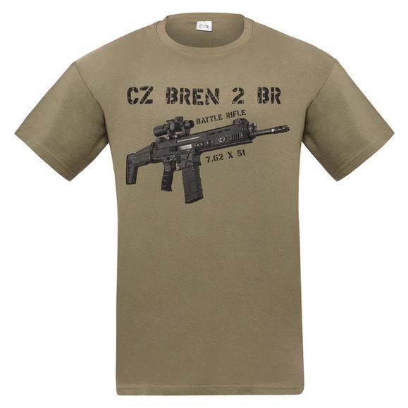 Shirt CZ Bren, color green XL