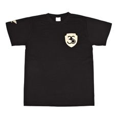T-shirt, colour black, gold logo