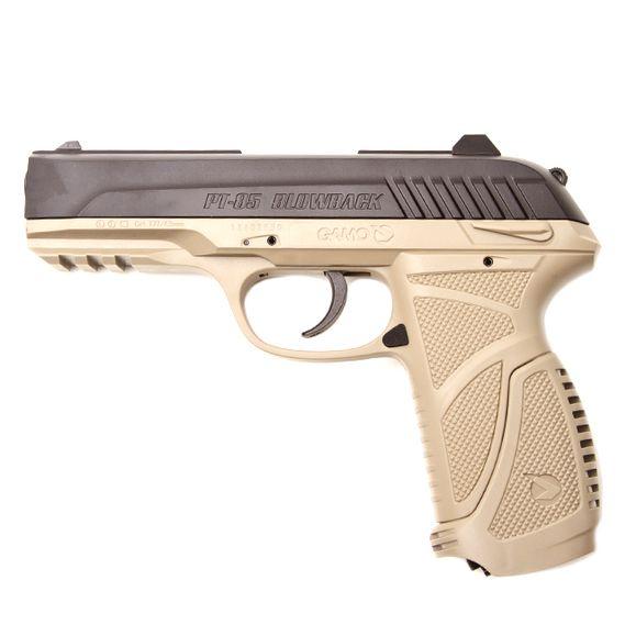 Air pistol Gamo PT-85 Blowback, cal. 4,5 mm sand