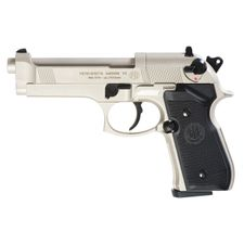 Air pistol Umarex Beretta M92 FS nickel, cal. 4.5 mm