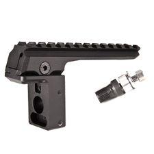 Rear mount for submachine gun vz.58