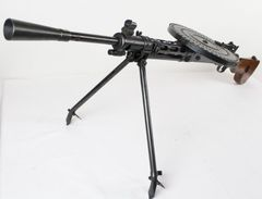 Deactivated machine gun  DP-28, cal. 7,62 x 54 R