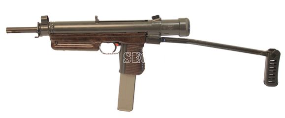 Deactivated submachine gun vz.26 cal.7.62x25