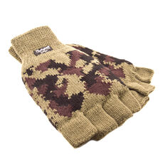 Gloves camouflage thermo