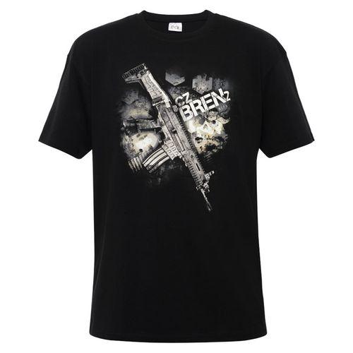 Shirt CZ Bren, color black XL