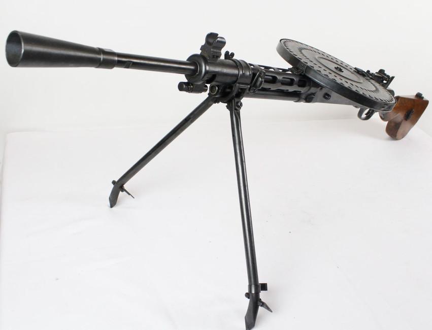 Deactivated machine gun DP-28 cal  7,62x54 R - AFG-defense
